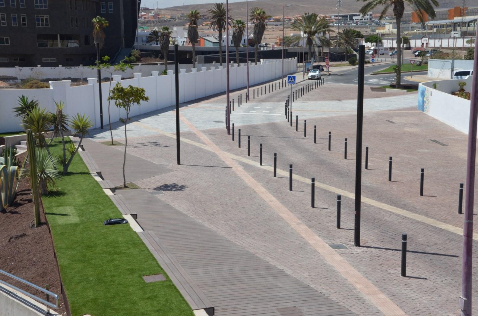 Acondicionamiento Rodonal y Peatonal Calle Los Pozos